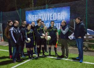 Begrüßung der SR durch Rainer Ficke Kehrwieder) und Jens Heinemann (Neuhof)