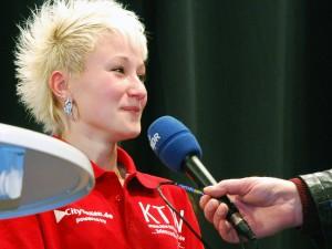 Larissa Kühl auf dem Jung-SR Turnier 2011
