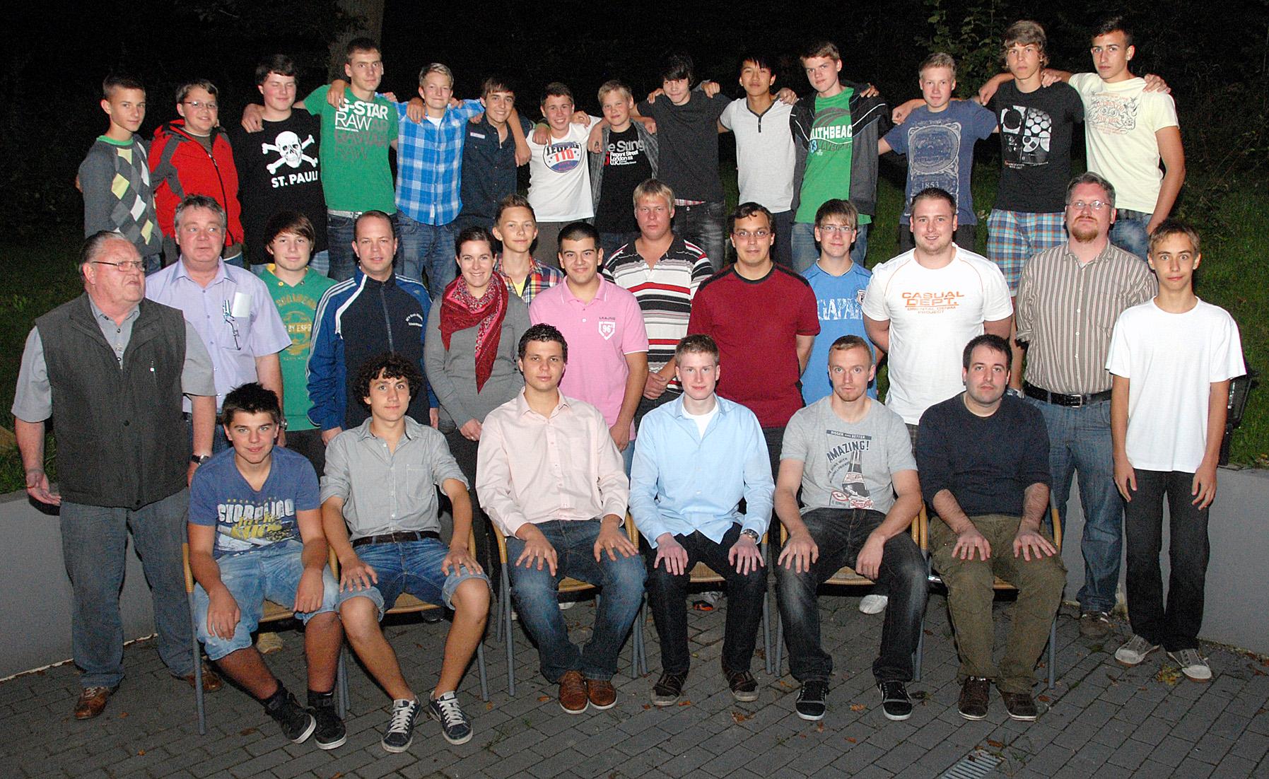 Anwärter 2011 in Giesen