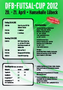 DFB Futsal Cup 2012 Spielplan