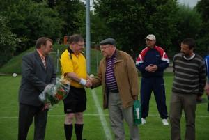 Der KSA dankt Jürgen Hebgen für 40 Jahre Schiedsrichterei