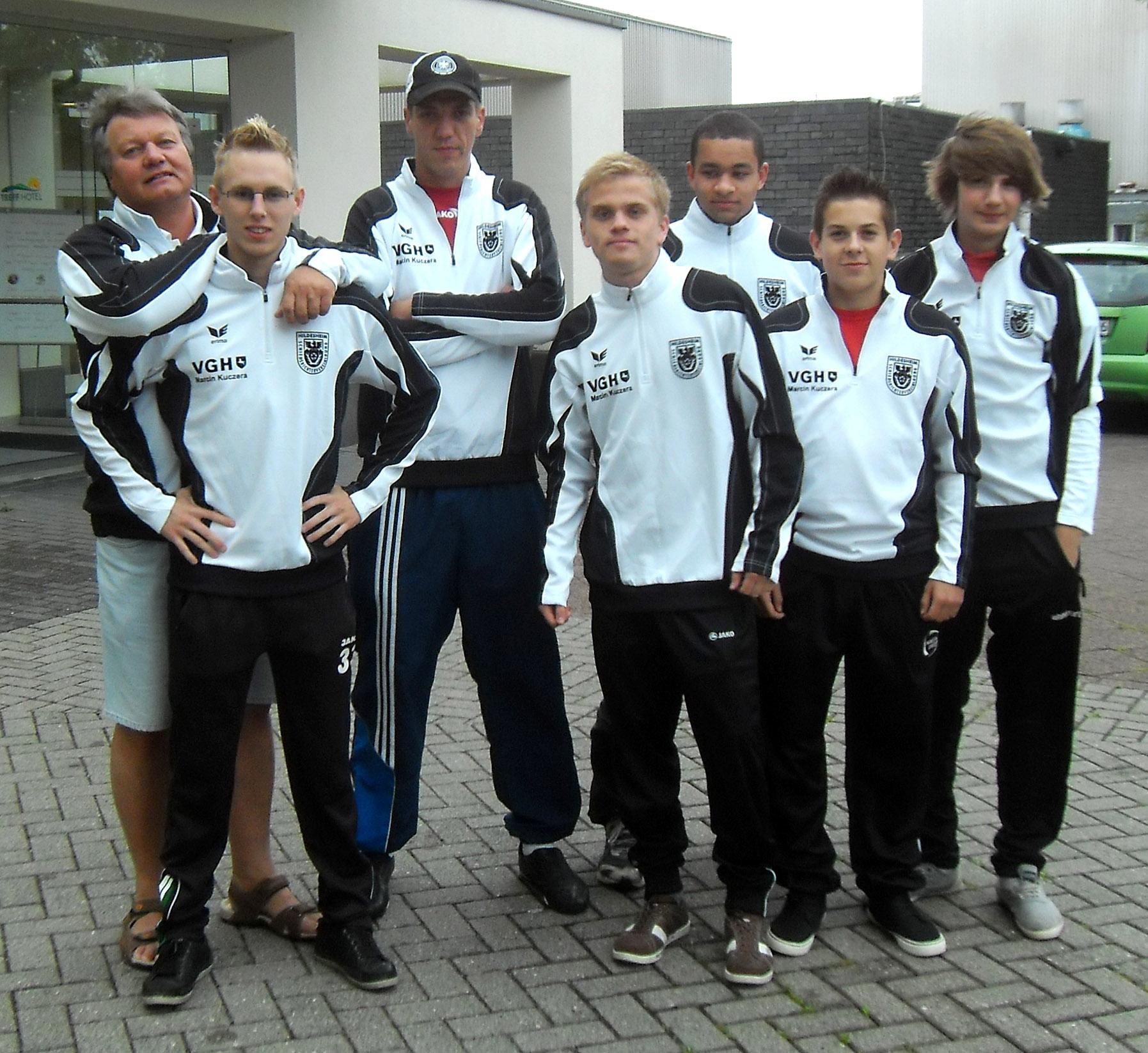Das Hildesheimer Jung-SR Team 2012