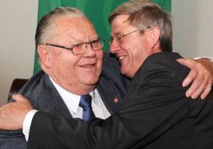 Detlef Winter verabschiedet Wilhelm König nach 31 Jahren