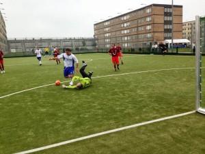 Futsal, 12:3 für die JVA
