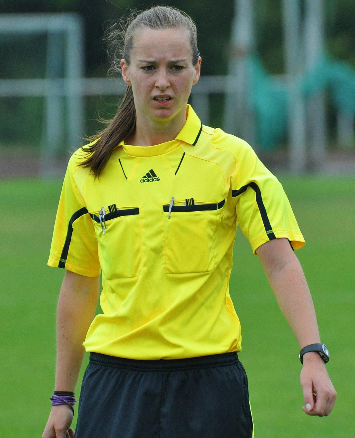 Irina Stremel in Aktion