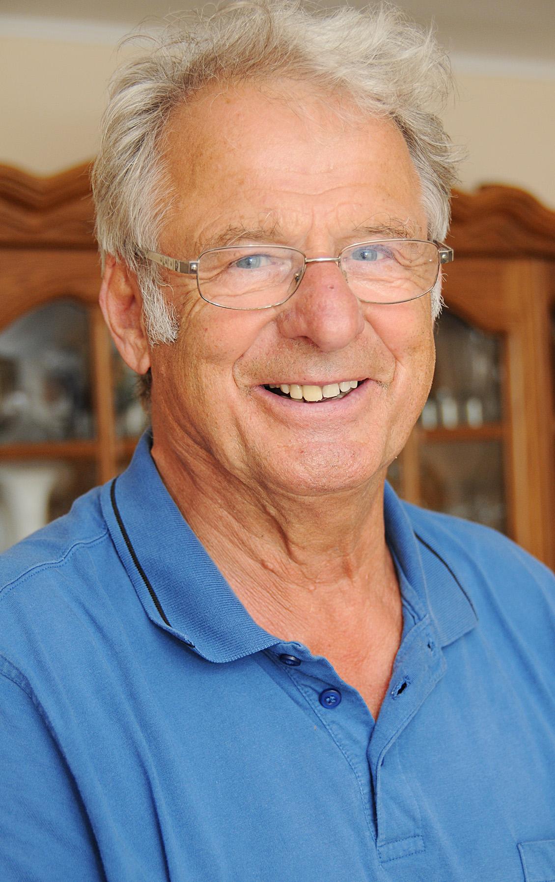 Hubert Schmidt feiert am 17. Juli seinen 80. Geburtstag.