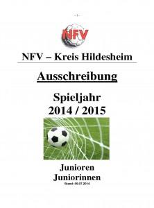 Ausschreibung Jugend Kreis Hi 2014-2015
