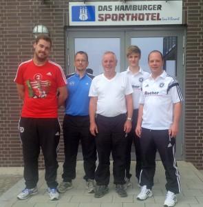 Deckwert, Behrens und Schierbaum in HH Verbandslehrgang Futsal