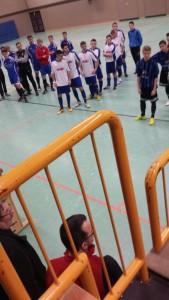 Unser Team zu Turnierbeginn in Gifhorn 2015