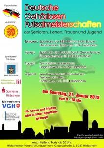 Deutsche Futsal-Meisterschaft DGS 2015