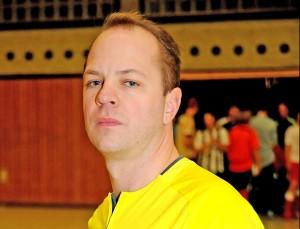 Marcus Schierbaum ist Bezirkslehrwart und DFB-Futsal-Schiedsrichter.