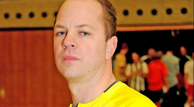 Bezirkslehrwart und DFB-Futsal-Schiedsrichter Marcus Schierbaum