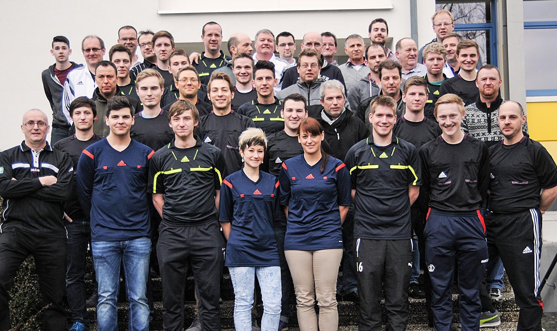 40 Schiedsrichter trafen sich bei der Halbzeittagung in der KSB-Lehrstätte in Himmelsthür.
