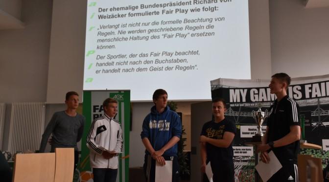 Benjamin Zink beim Fair-Play-Cup in Barsinghausen