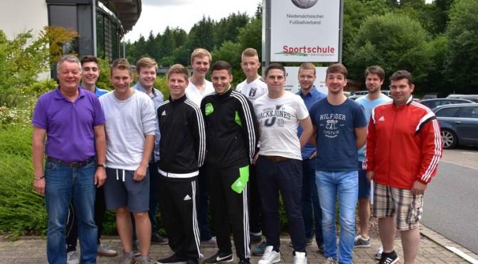 Unsere Aufsteiger in Barsinghausen