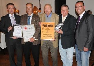 Friedrich Bock seit50 Jahren in der Schiedsrichter-Vereinigung