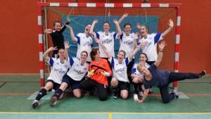 Das Bezirks-Frauen Team mit den Hildesheimern 2016