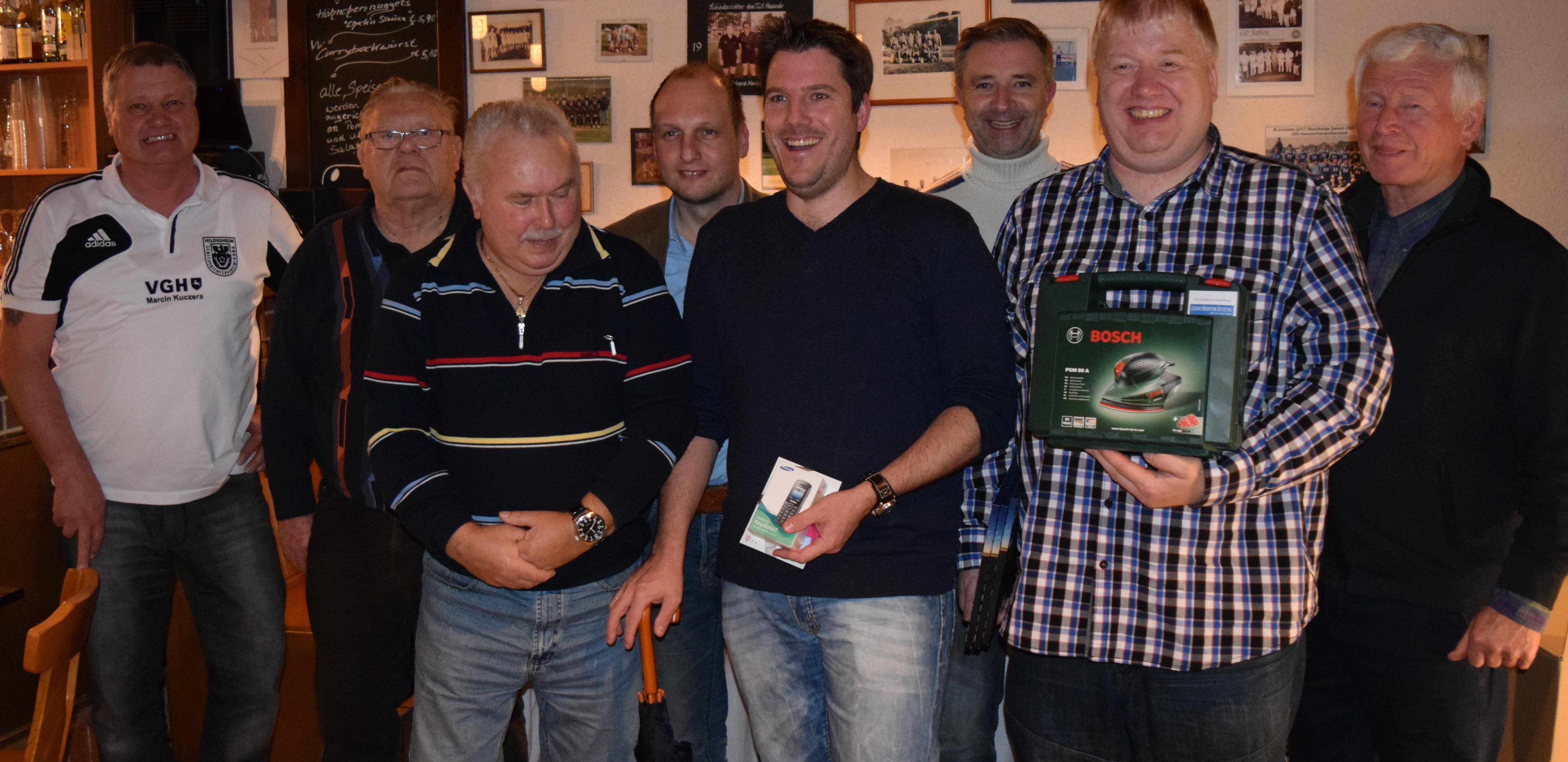 Skat- und Knobeln 2015 - die Sieger