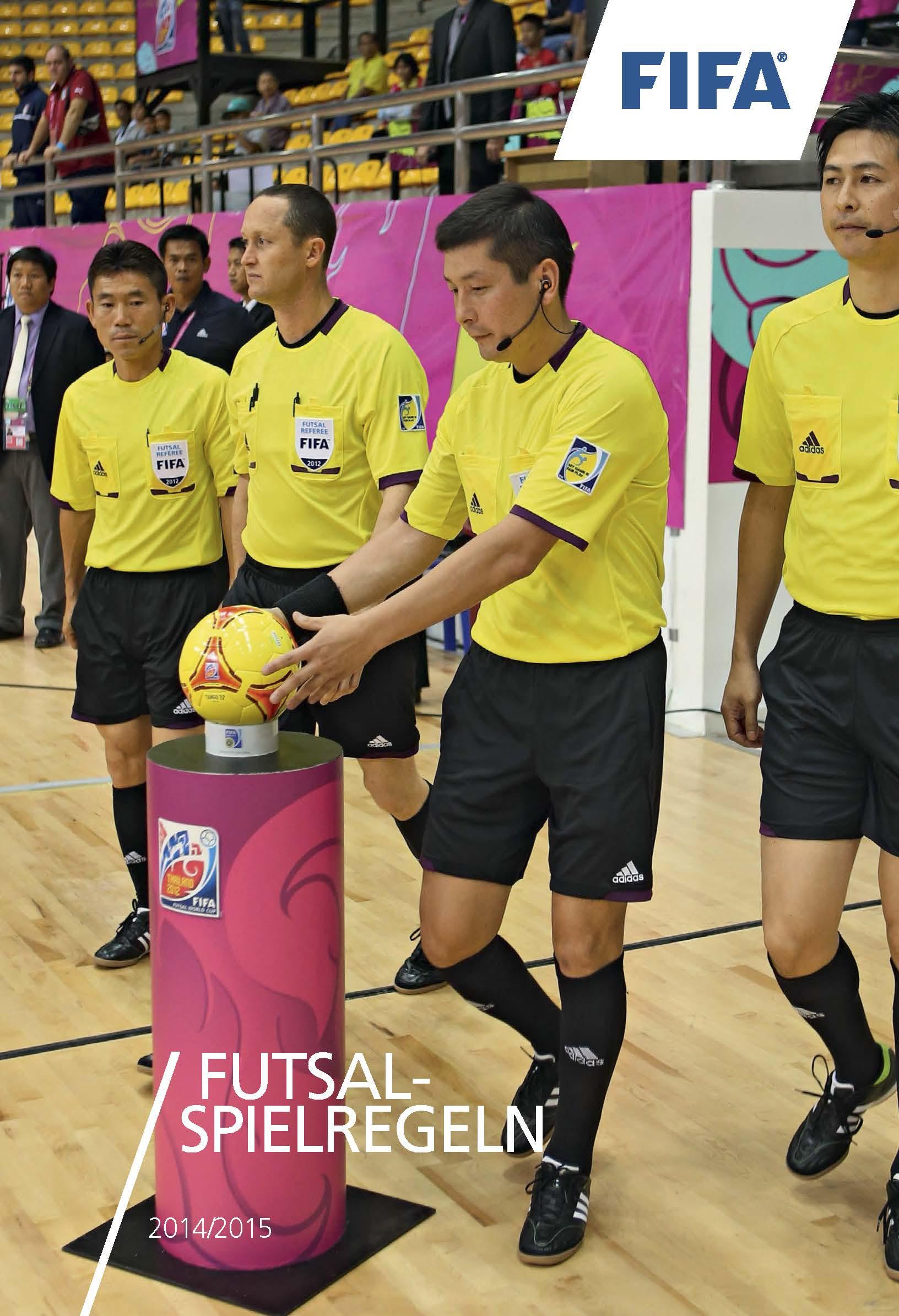 Futsal Regeln 2014-2015