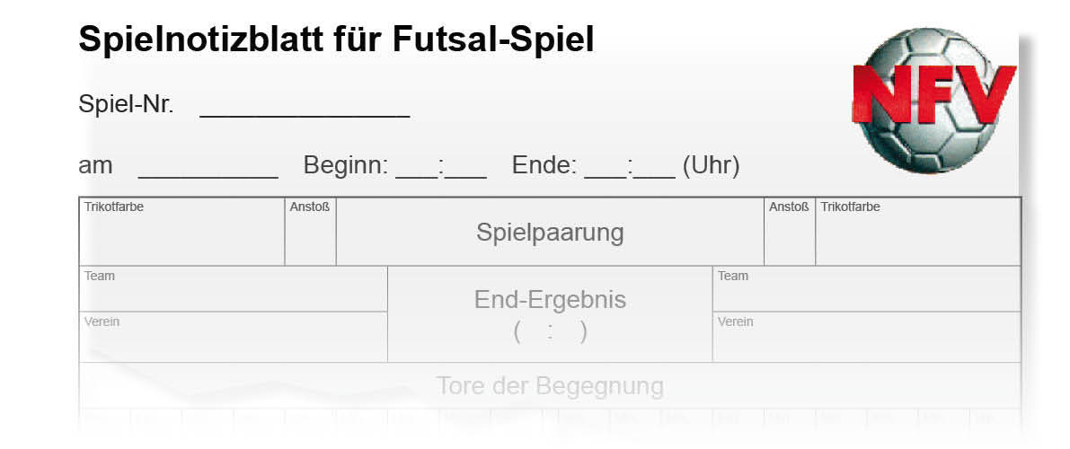 Futsal Spielberichte