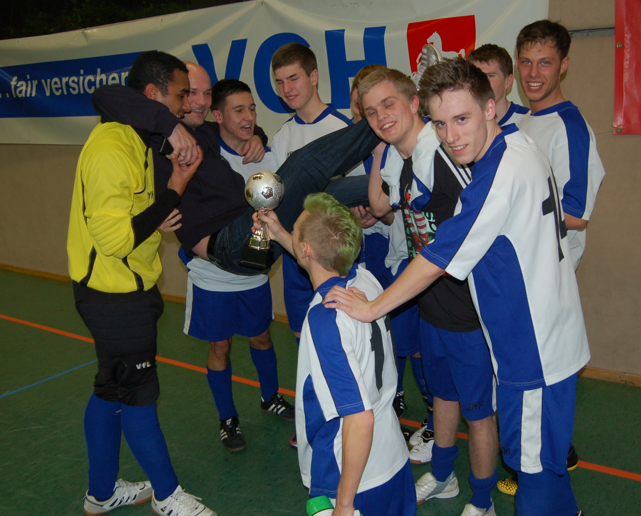 Turniersieg 2012: Das Jung-SR-Team