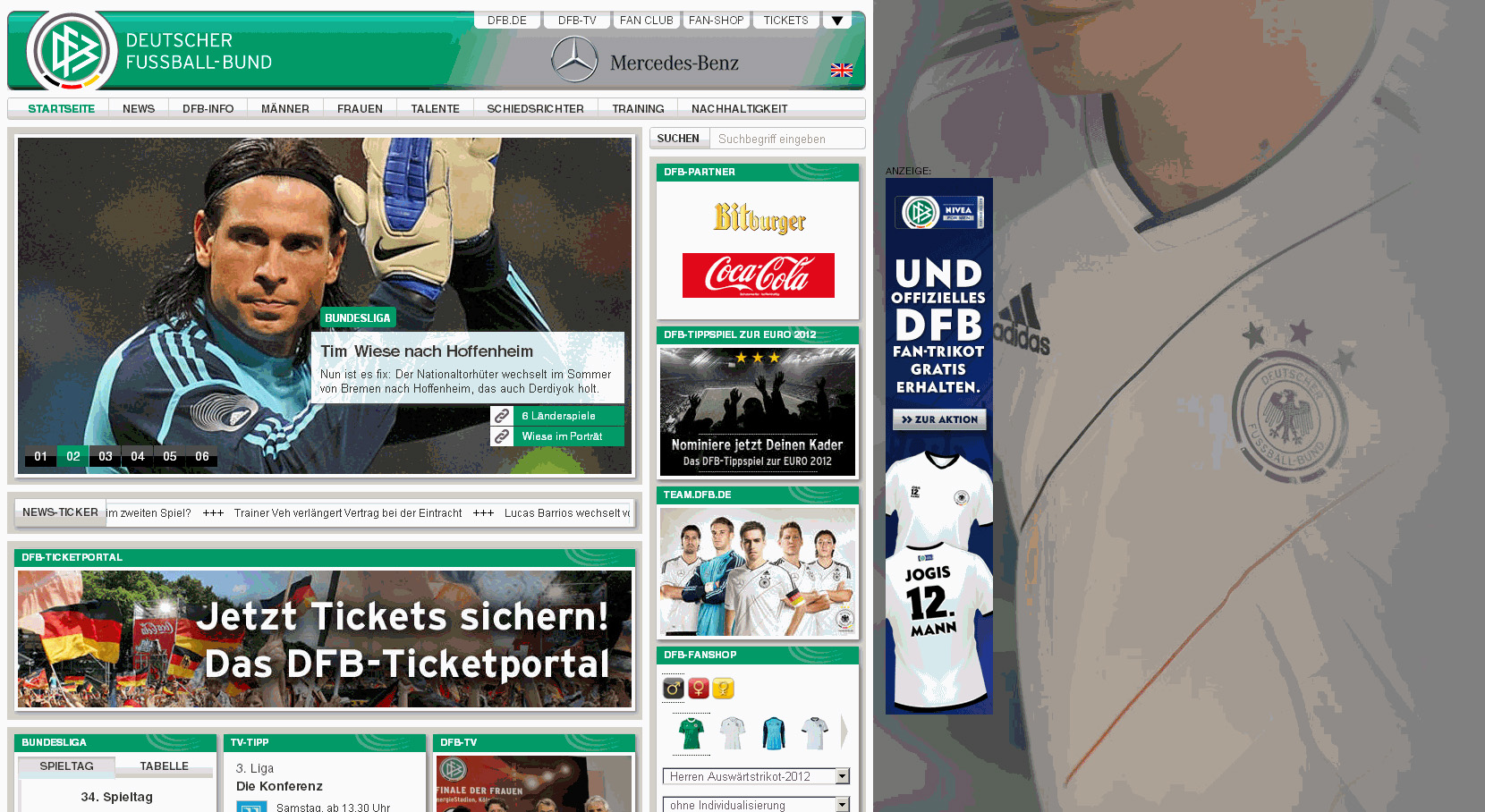 DFB-Website