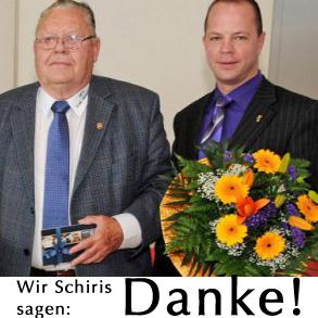 Einfach ein Danke an Wilhelm und Marcus!