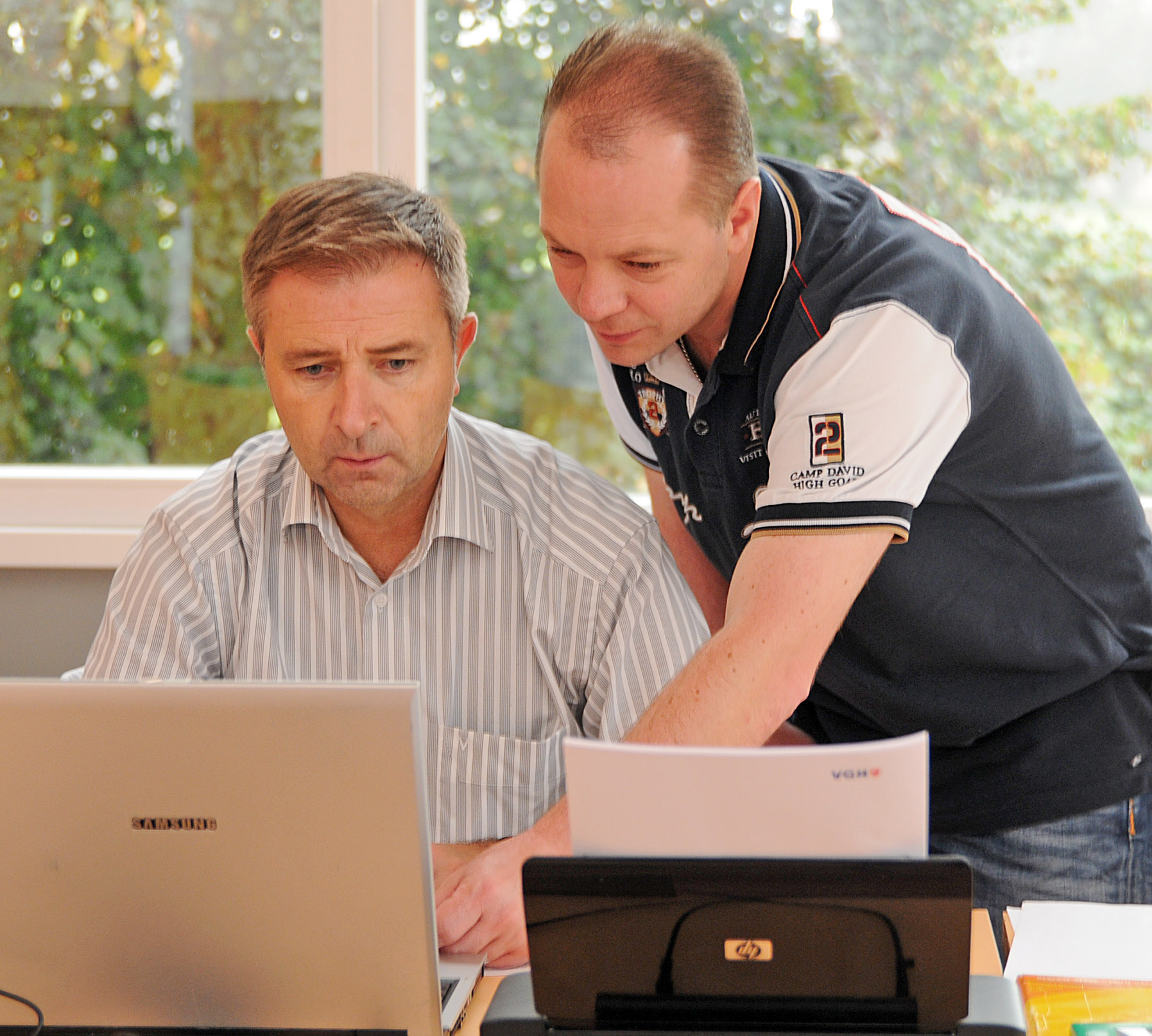 Anwärterprüfung, Marcin Kuczera (KSO) und Marcus Schierbaum (BSL)