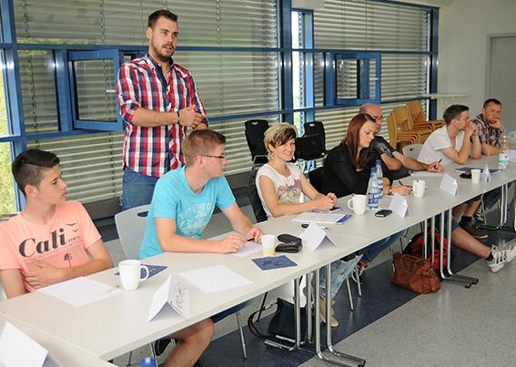 KSL Florian Deckwert beim Spitzen-SR Lehrgang im NFV-Kreis Hildesheim