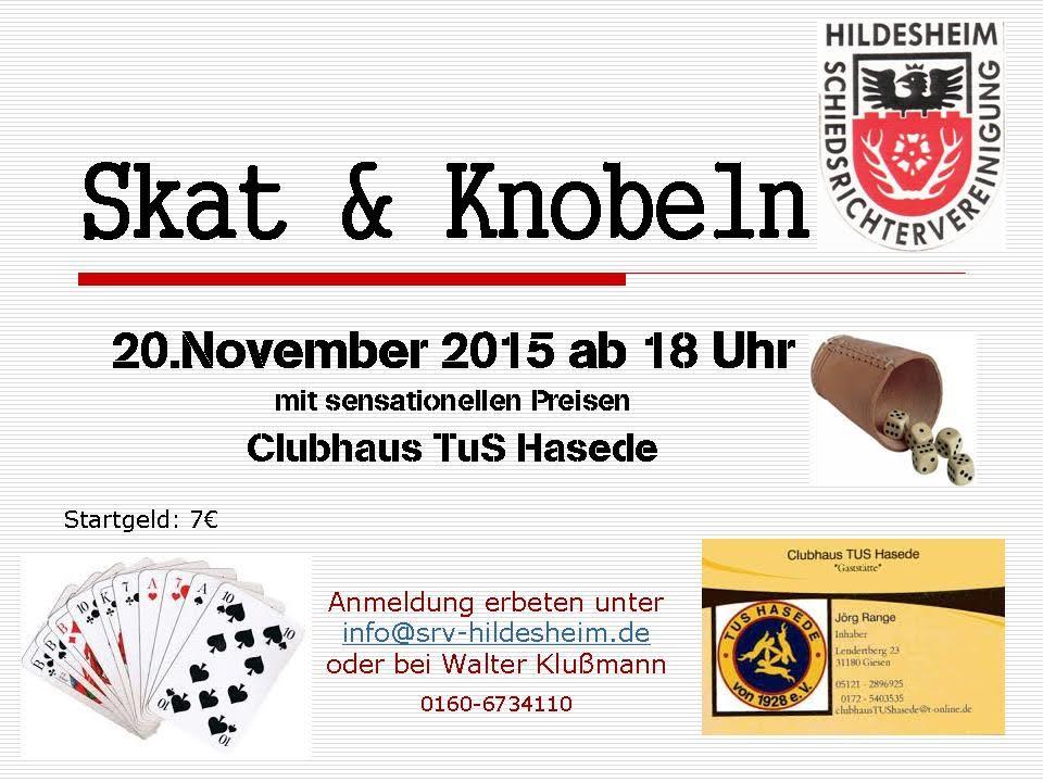 Skat & Knobeln 2015