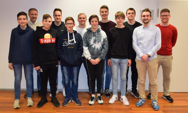 Jannis Ulbrich (SC Harsum), Marcin Kuczera (KSO), Florian Kühle (TSV Sibbesse), Lenny Struß (SV Wohldenberg), Tim Henrik Neumann (SSV Förste), Jens Königsmark (VfL Nordstemmen), Jennifer Steinfurth (SC Harsum), Mika Wunnenberg (SC Asel), Leonard von Weymarn (VfR Ochtersum), Marlon Pulz (TuS Himmelsthür), Marco Zint (SpVgg Hüddessum-Machtsum), Nils Schmidt (KSL)