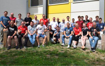 Gruppenbild mit den Schiedsrichtern beim KSB 2019