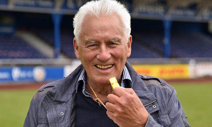 Der ehemalige Schiedsrichter und Funktionär Horst Becher feiert den 80. Geburtstag.