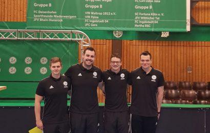 Julian Eberhardt und Florian Deckwert beim Futsal Junioren Finale DFB 2019