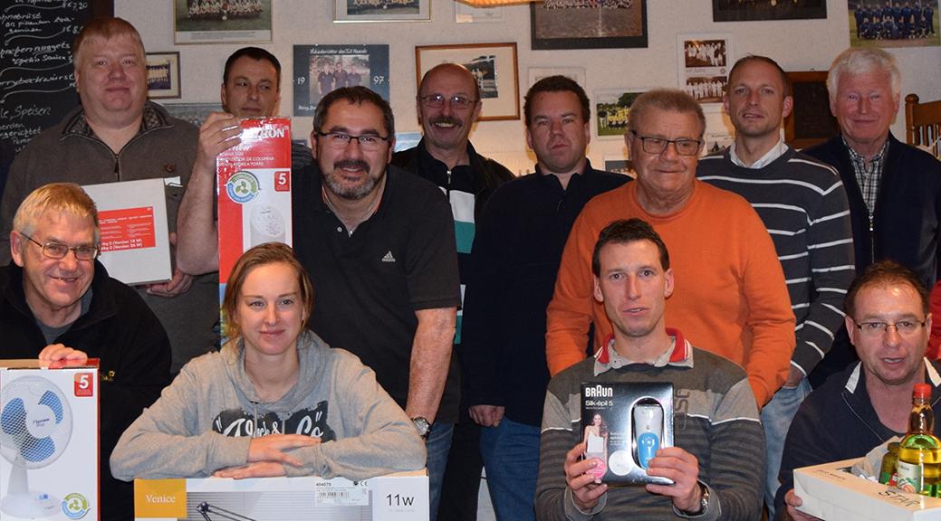 Siegerfoto 2016 Skat Knobeln